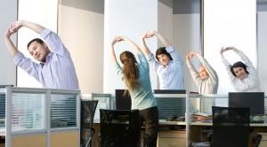 Упражнения в офисе